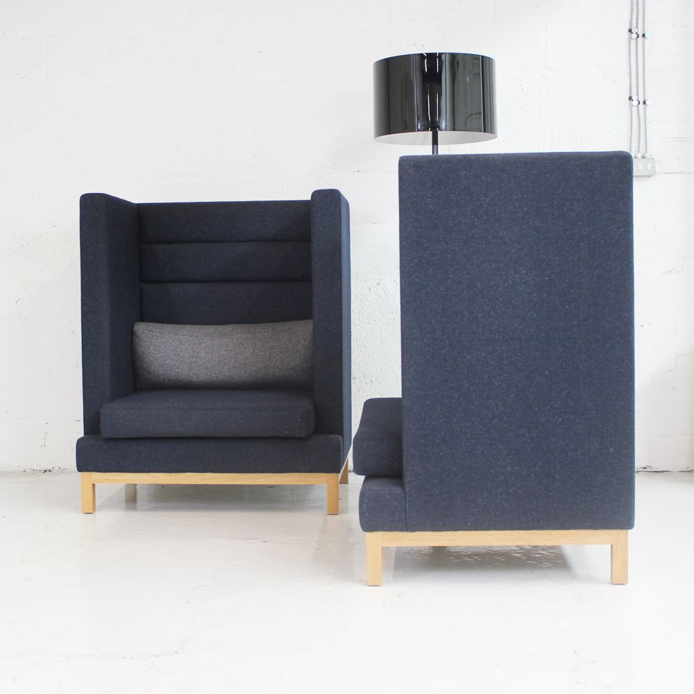 High Back Reception booths  office pods  pod seating